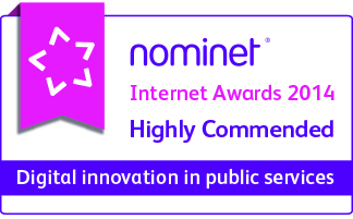 Nominet Internet Awards 2014 Highly Commended